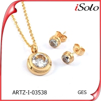 zirconia jewelry china women's jewellery jewelry set in latest design