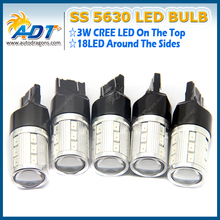 7443/7440 5630 21SMD Brake Light 12V 21W Car Reversing Light Car LED High Power Front Turn Signal Lights For AUDI