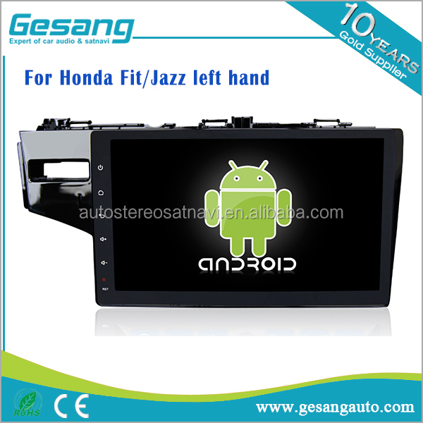 android 6.0 car dvd player for Honda Fit Jazz with gps support 3g wifi dvr