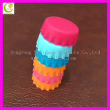 Various Color Choice Silicone Reusable Wine Bottle Caps/Beer Sealer Silicone Bottle Cap Stopper