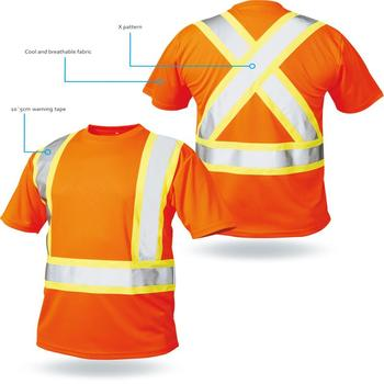 LX722 Simple, Comfortable And Reflective Shirt
