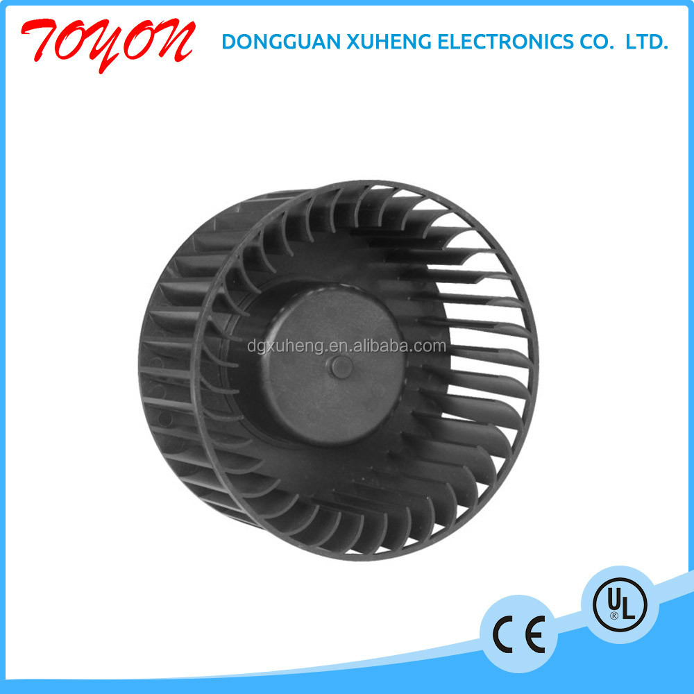 toyon dc plastic centrifugal impeller fan
