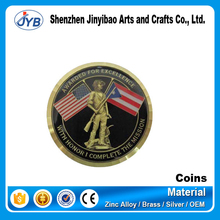 2014 Customized Souvenir South africa gold coins for gifts