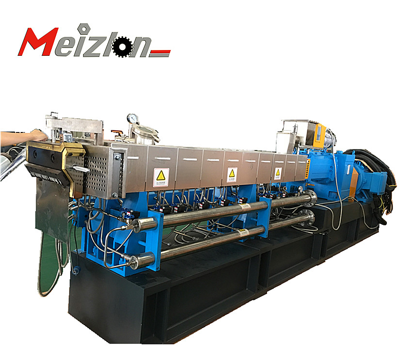 High Capacity plastic extruder <strong>PE</strong>/PP/PS parallel Twin Screw Extruder for plastic masterbatch