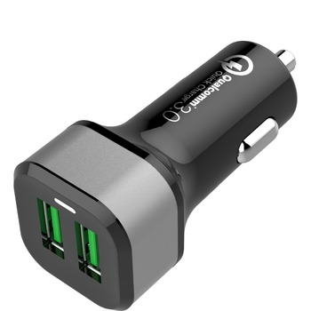 in car phone usb QC 3.0 GPS multi-fonction usb cell phone charger QC3.0