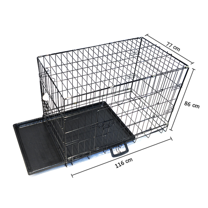 hot sale folding metal pet cage dog crate manufacturer