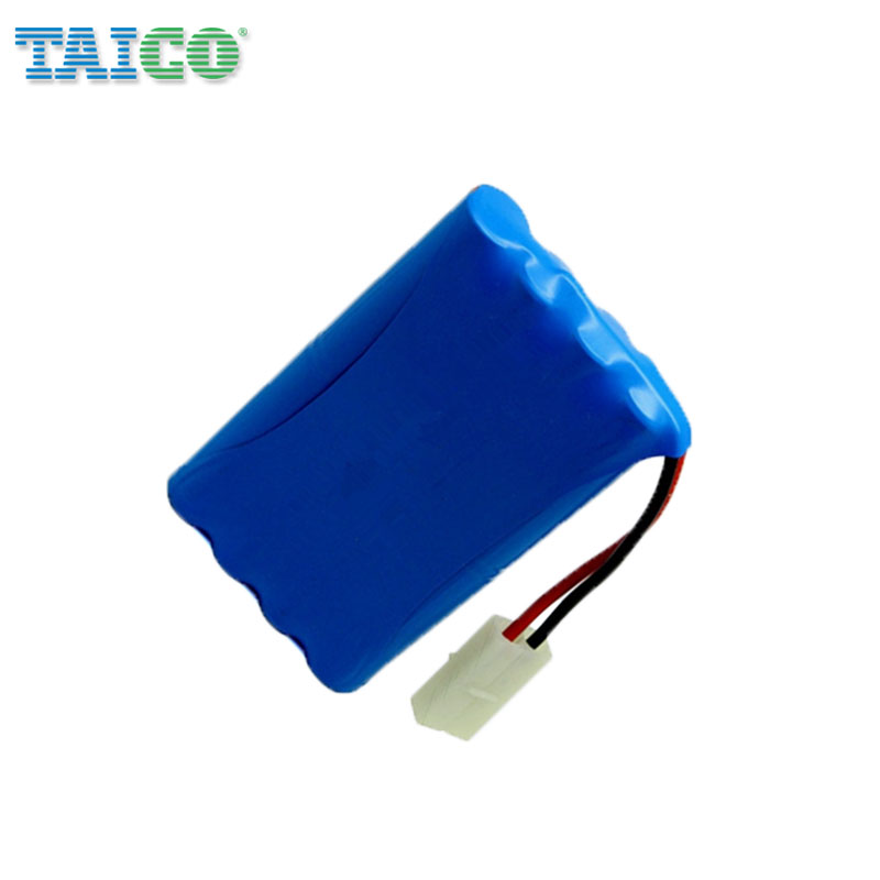 18650 Rechargeable li ion battery 7.4 volt 4400mah with connector