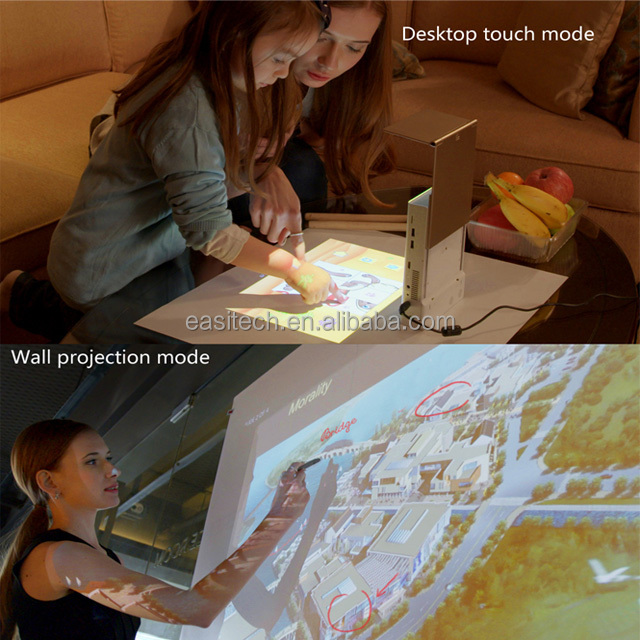 Touch Pico projector turns your desk into a computer