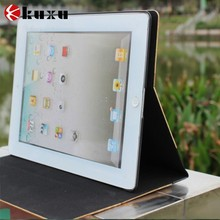 Newest Wooden style PU leather tablet case for ipad mini 7.9 inch