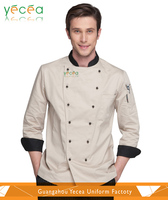 2016hotsell professional executive Western canteen restaurant handsome chef uniform wholesale &customize logo