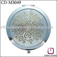 promotion round decorative hand carved mirrors CD-M3049