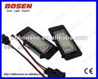 Q5 A4 4D/5D(B8) led number plate light