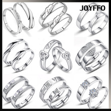 wholesale 2017 latest silver ring design wedding value 925 men silver diamond jewelry silver couple rings