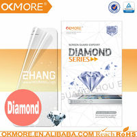 HOT sell diamond screen protector for Samsung GALAXY Note 3 shining silver diamond , factory derect sale,high quality!