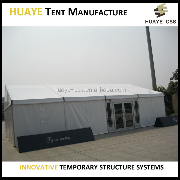 HUAYE outdoor temporary tradeshow tent for sale
