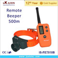 Waterproof and Rechargeable with 500M Remote Control Trainer Electronic Beeper Collar
