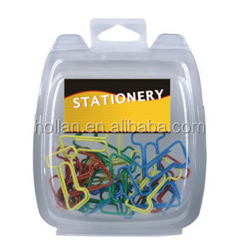 Different Kinds Paper Clips In Clamshell
