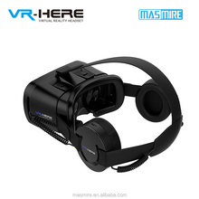 New design vr headphone adapts all vr box and vr all in one
