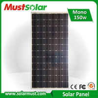 High Efficiency 150W Photovoltaic Solar Panel for Home Solar System