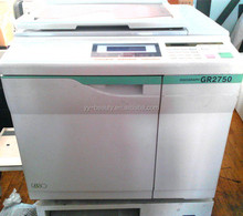 RISOs GR3750 GR2750/2710/2000/1710 Digital Duplicator machine,RISOGRAPH used cheap copyprinter machine