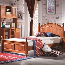 Latest Designs Double Beds Wooden Bedroom Furniture, Modern Bedroom Single Bed