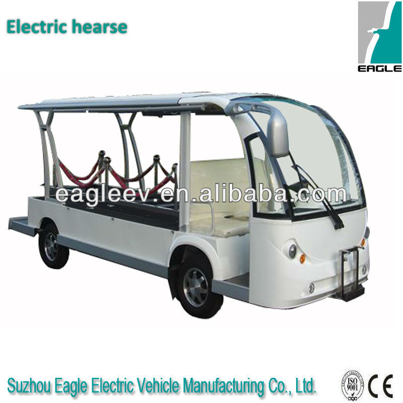 battery powered electric Hearse , CE approved