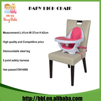 Deluxe SpaceSaver High Chair Baby Feeding Booster Full-Size