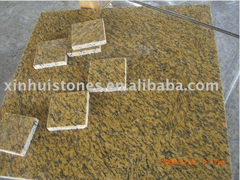 Dyed Tiger yellow granite