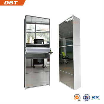 2013 End-year sales Morden MDF 5 layers with mirror shoe cabinet