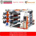 4 colors , 6 colors FLEXO PRINTING MACHINE (4 color in front and 2 color in back)