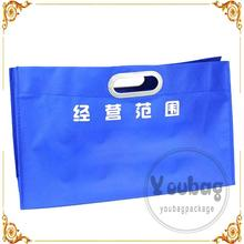 cartoon pp laminated nonwoven shopping bags printing non woven bag for suit
