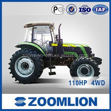 ZOOMLION high quality 110HP 4WD RS1104 farm tractor