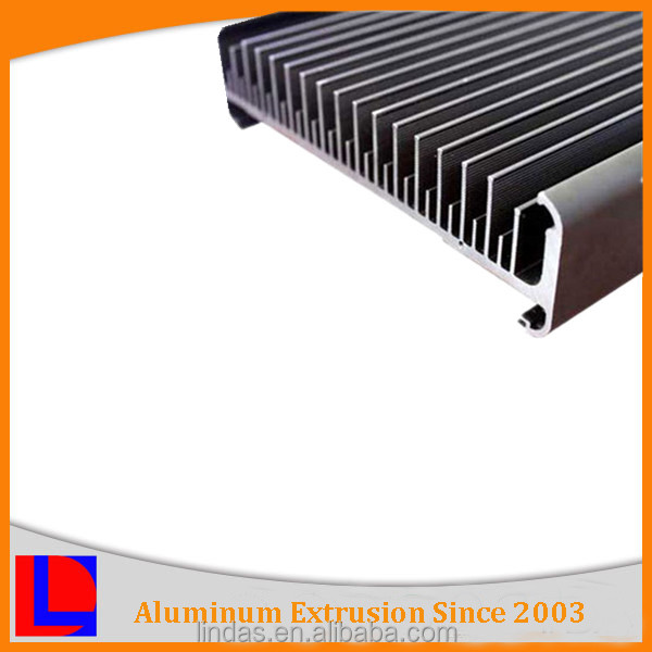 6063-t6 extruded customized heatsink aluminum enclosure