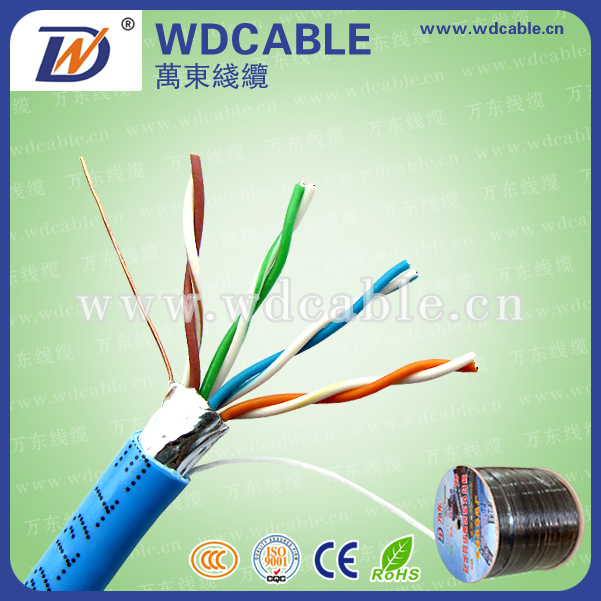 2017 new best price 0.51mm ofc ftp cat5e cable