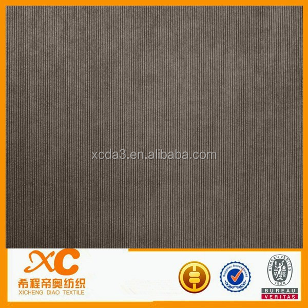 corduroy black color fabric to make luxury men suit