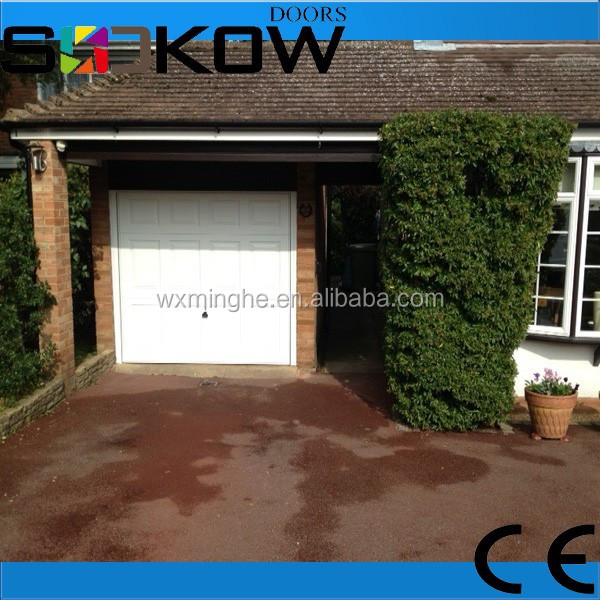 used garage door sales/factory price sectional garage door sales