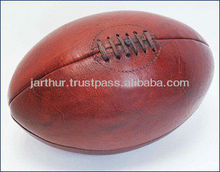 Antique Leather Replica Rugby Balls