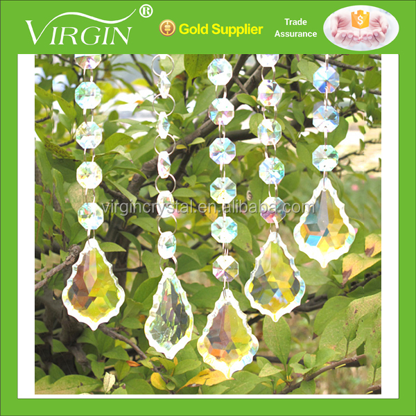 Shining Promotional Clear Acrylic Crystal Centerpieces For Wedding Table Decorations