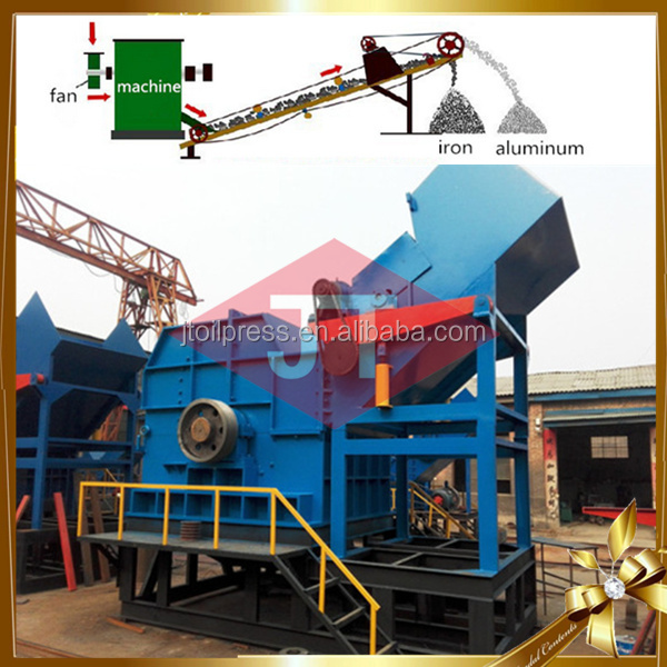 Alumimum scrap grinding machine old metal crusher machine