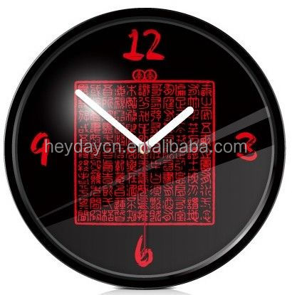 photo frame insert clock