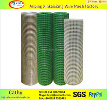 hot sale high quality 1x1 pvc coated welded wire mesh