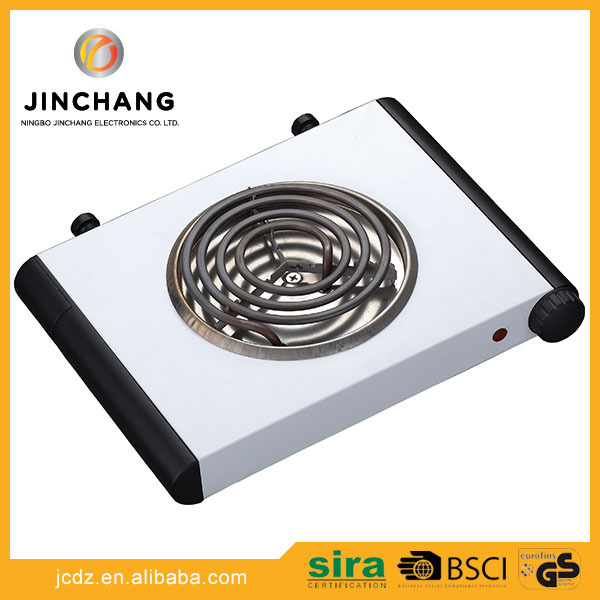 stainless steel electric stove 110v single burner electric travel hot plate