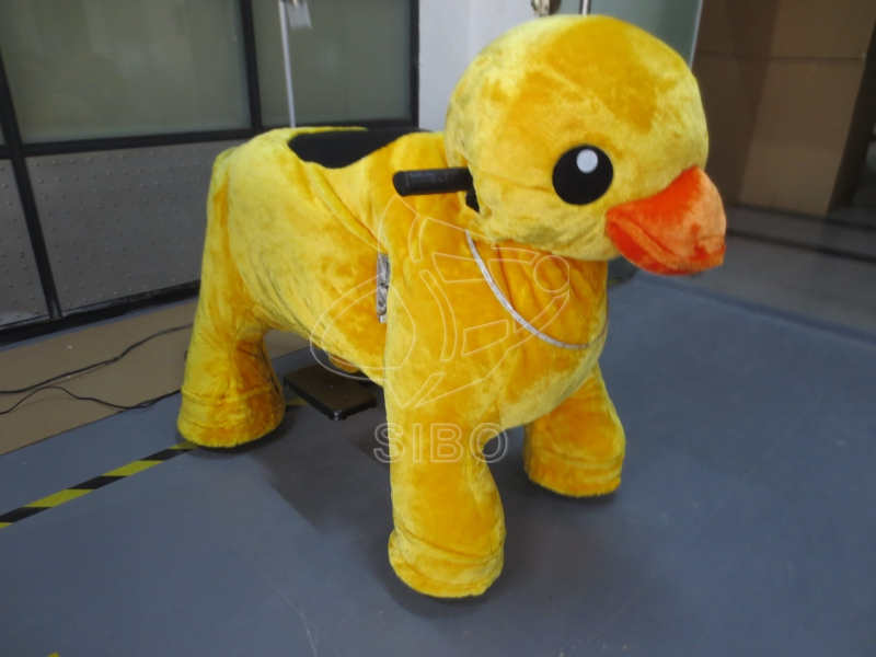 GM5956 sibo LED animal rides inflatable air track ride on furry animal