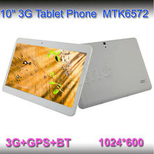 3G+Bluetooth+GPS 10inch MTK6572 Dual Core 1G/8G 3G Phone Call Tablet