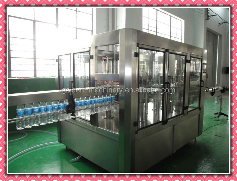 Nature Spring Mineral Water Filling Factory