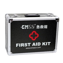 Wholesale green small useful empty waterproof first aid kit/ box