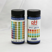 Universal Plastic pH Test Strips, pH 0~14 Accurate pH test paper kits for swimming pool, spa, drinking water
