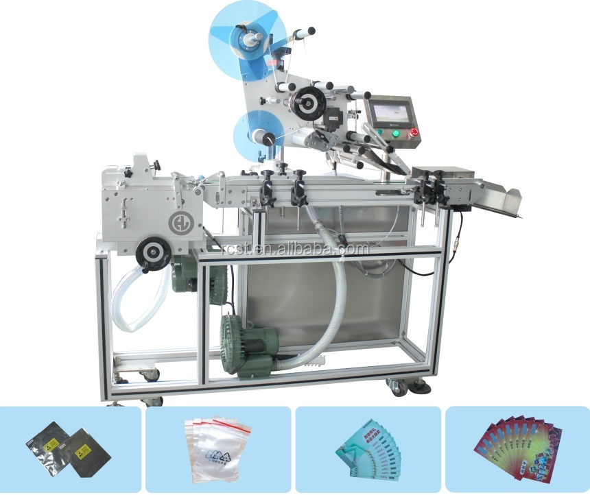 Suction-type light card labeling machine PE bag labeling machine plastic label machine