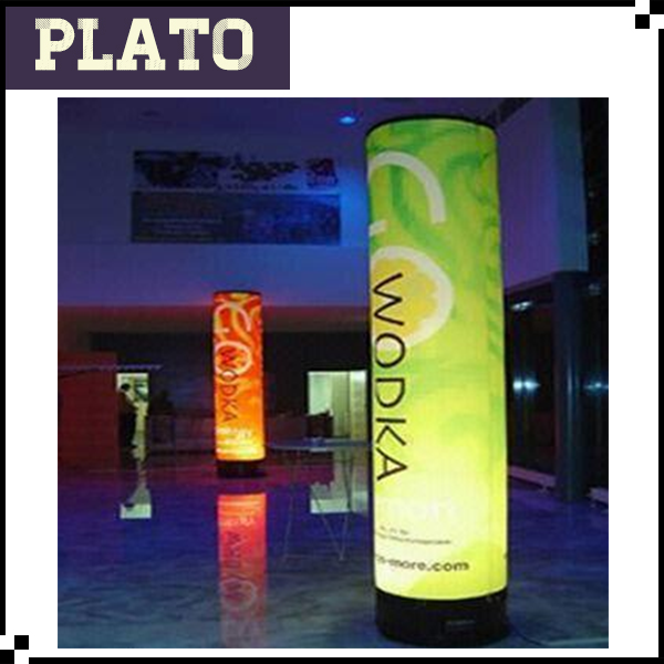 Advertising LED inflatable tube pillar, inflatable column