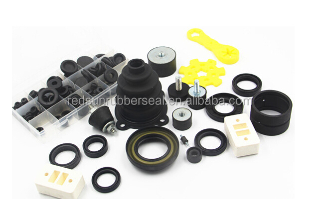 compression molded rubber products